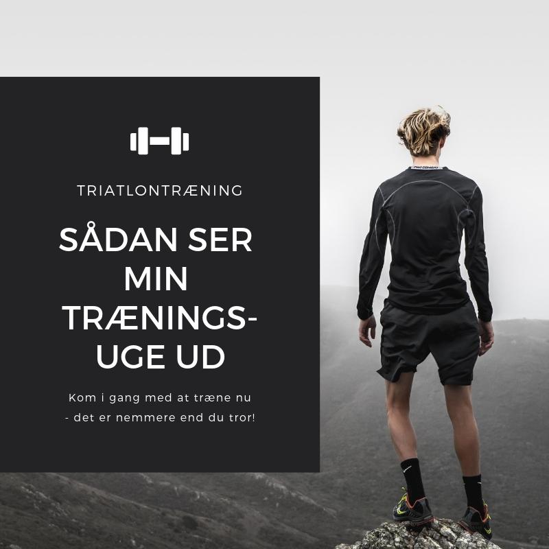 typisk træningsuge i triatlon