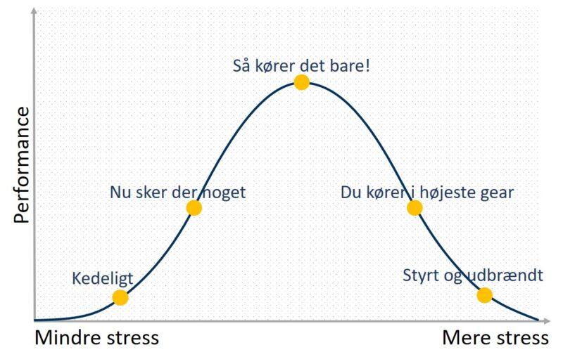 stresszone - håndtering af stress